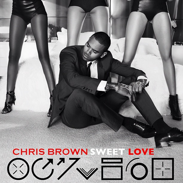 Chris Brown Unveils Official 'Sweet Love' Cover Art