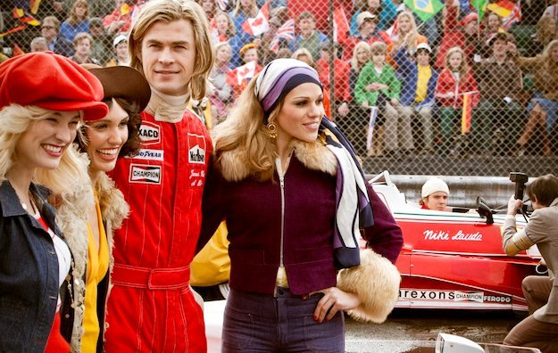 First Official Images of Chris Hemsworth as F1 Racer in 'Rush'