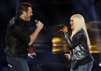 Christina Aguilera and Blake Shelton Premiere 'Just a Fool' Duet on 'The Voice'