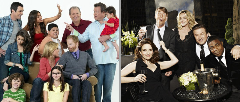 Comedy Awards Winners in TV: 'Modern Family' and '30 Rock'