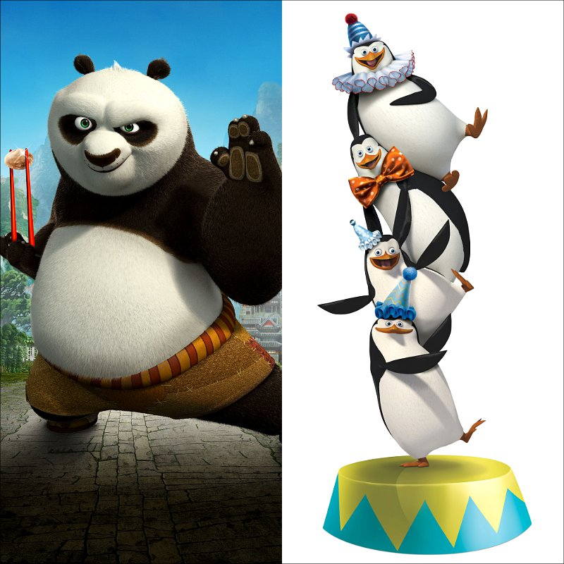 Comic-Con 2012: DreamWorks Developing 'Kung Fu Panda 3' and 'Madagascar' Spin-Off