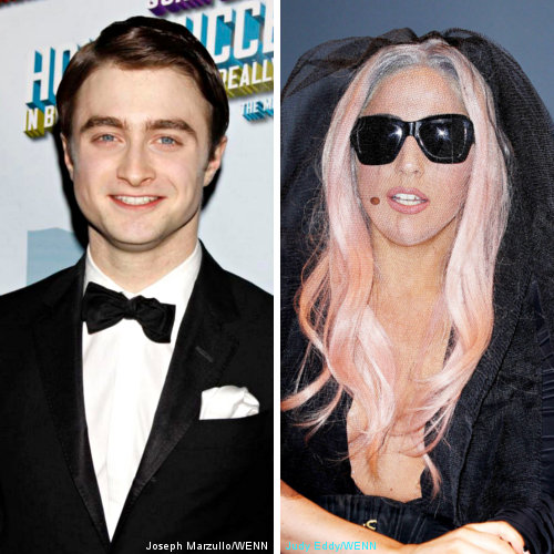 Daniel Radcliffe Praises Lady GaGa for Gay Rights Stance