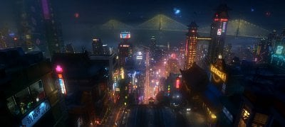 Disney Animation Debuts First Footage for Its Marvel Film 'Big Hero 6'