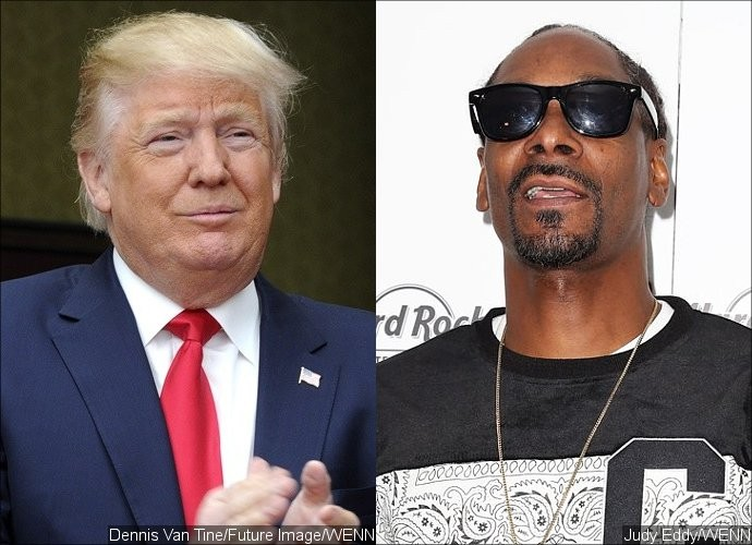 Donald Trump Tweets Snoop Dogg Would Be Jailed If He Pulled Gun on Obama