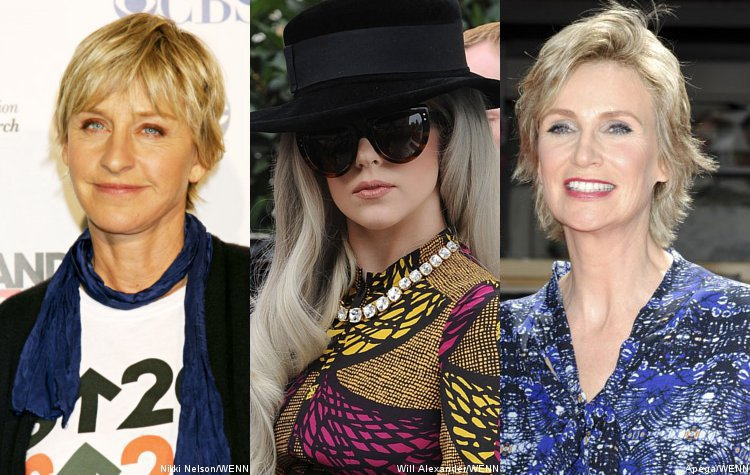 Ellen DeGeneres, Lady GaGa, Jane Lynch Rejoice Over Obama's Gay Marriage Support