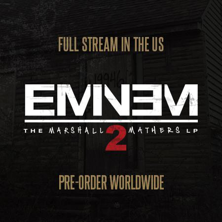 Eminem Streams 'MMLP2' Early on iTunes