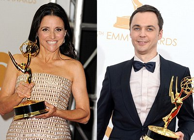 Emmy Awards 2013: Julia Louis-Dreyfus and Jim Parsons Among Early Winners