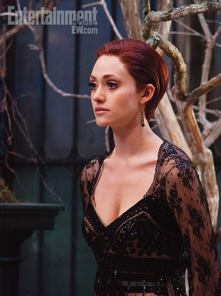 First Look at Emmy Rossum as Manipulative Ridley Duchaness in 'Beautiful Creatures'