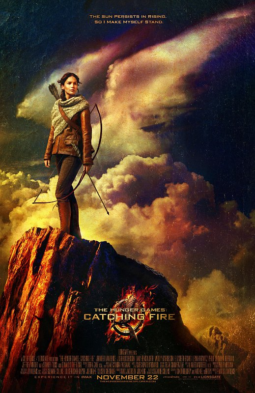 Fearless Katniss Is Up for Another Battle in New 'Hunger Games: Catching Fire' Poster