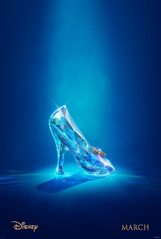 'Cinderella' First Teaser Trailer Shows Nothing But Shoe