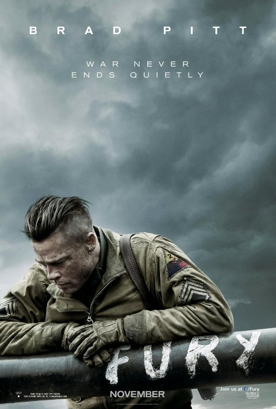 First Trailer for 'Fury': Brad Pitt Takes Young Protege in War