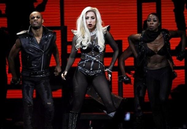 Video: GaGa Dedicates 'Hair' to a Fallen Monster at iHeartRadio Music Festival