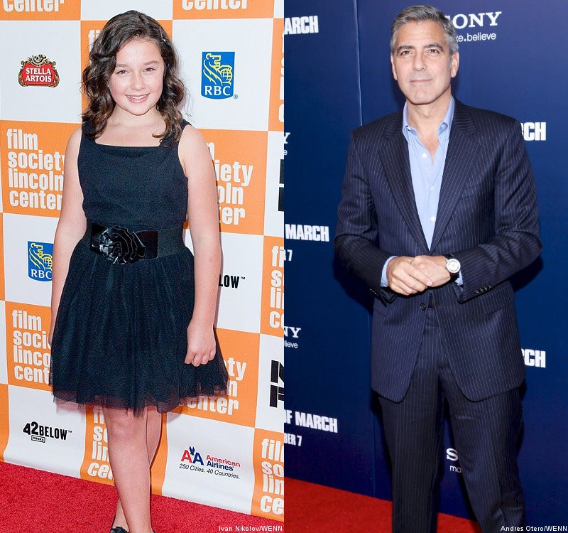 George Clooney's On-Screen Daughter Doesn't Think He Would Be a Good Father