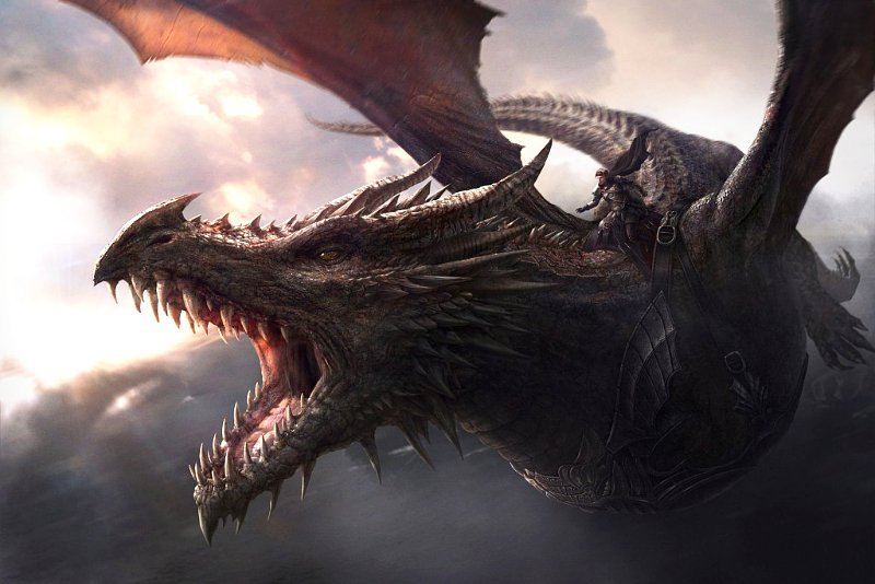 George R. R. Martin Reveals the Size of a Fully Grown Dragon on 'Game of Thrones'