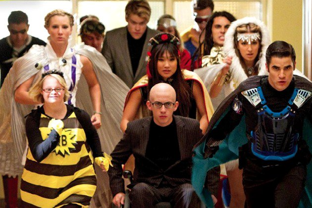 New 'Glee' 4.07 Preview Introduces the Superheroes