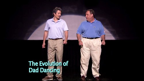 Video: Gov. Chris Christie and Jimmy Fallon Show the Evolution of Dad Dancing on 'Tonight Show'