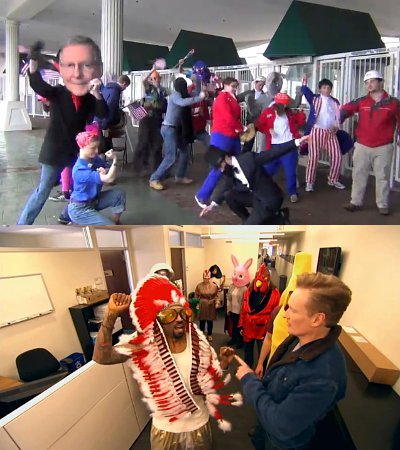 'Harlem Shake' Fever Reaches Mitch McConnell's and Conan O'Brien's Offices