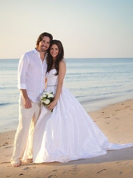 Jake Owen Shares His Beachside Wedding Photo