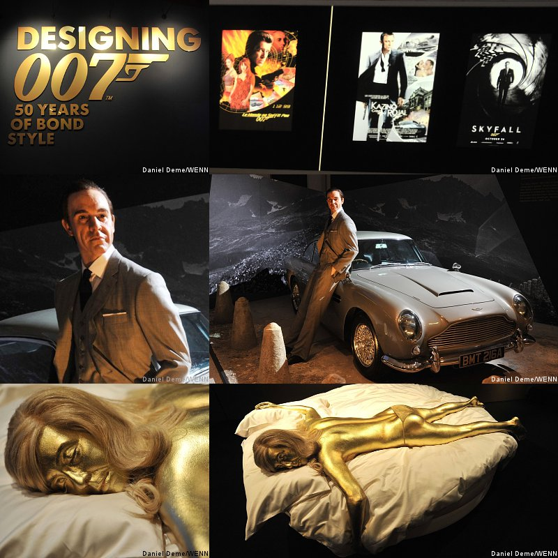 James Bond Celebrates 50th Anniversary With 'Designing 007' Exhibition