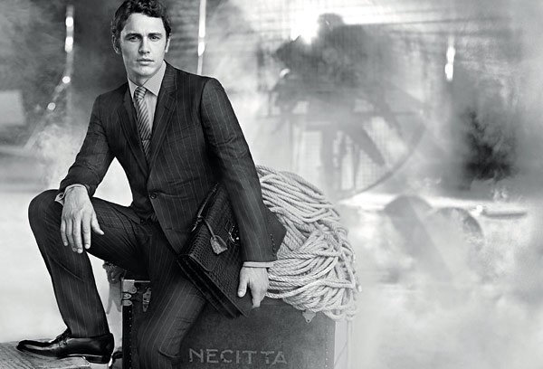 James Franco Smoldering Hot in New Gucci Ads