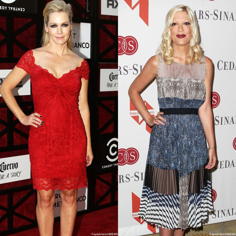 '90210' Alums Jennie Garth and Tori Spelling Reunite in ABC Family Pilot