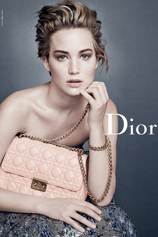 Jennifer Lawrence Stunning in New Dior Ads, Asking for Stair-Friendly Dress for the Oscars