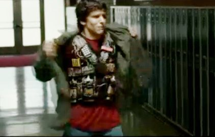 Jesse Eisenberg Wears Bomb Vest in Fresh Clip for '30 Minutes or Less'