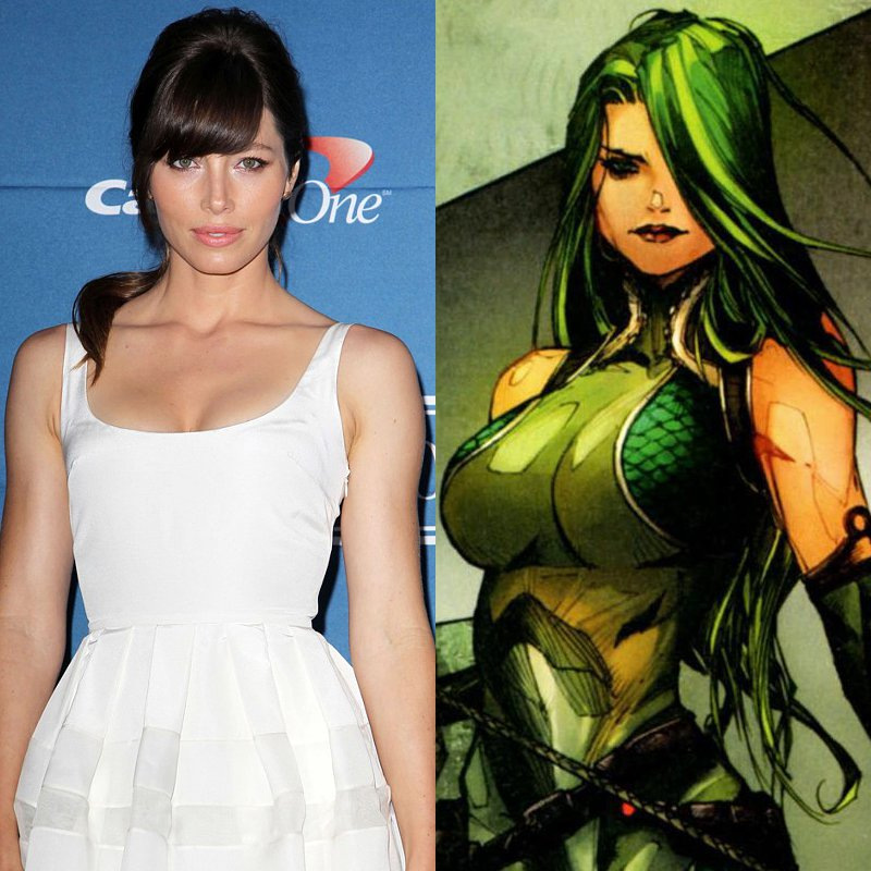 Jessica Biel Cast as Villainess Viper in 'The Wolverine'