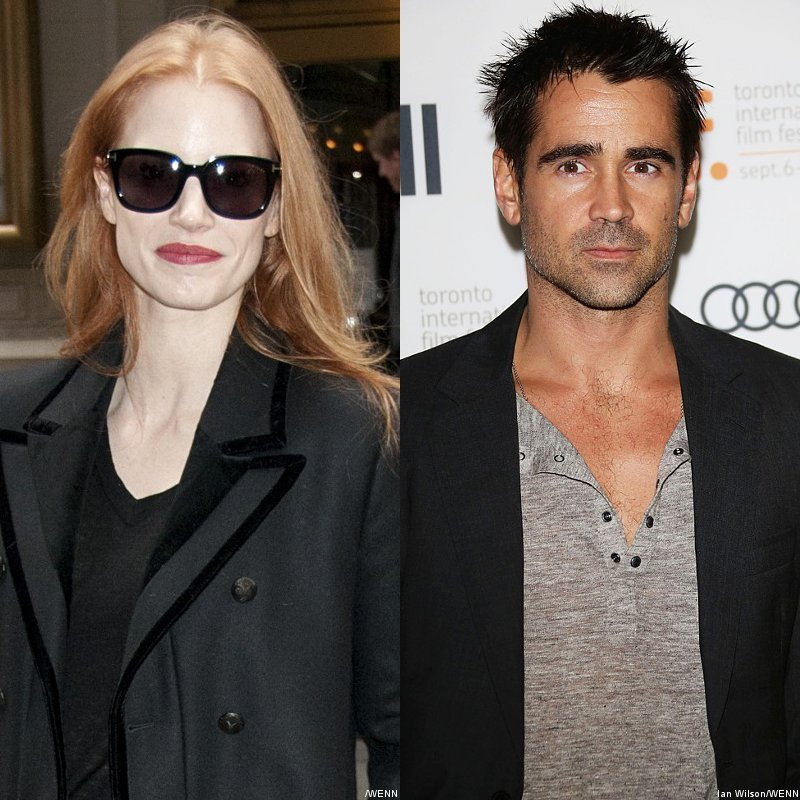 Jessica Chastain Seals Next Project 'Miss Julie' With Colin Farrell
