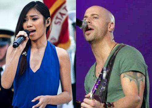Video: Jessica Sanchez and DAUGHTRY Perform at National Memorial Day Concert