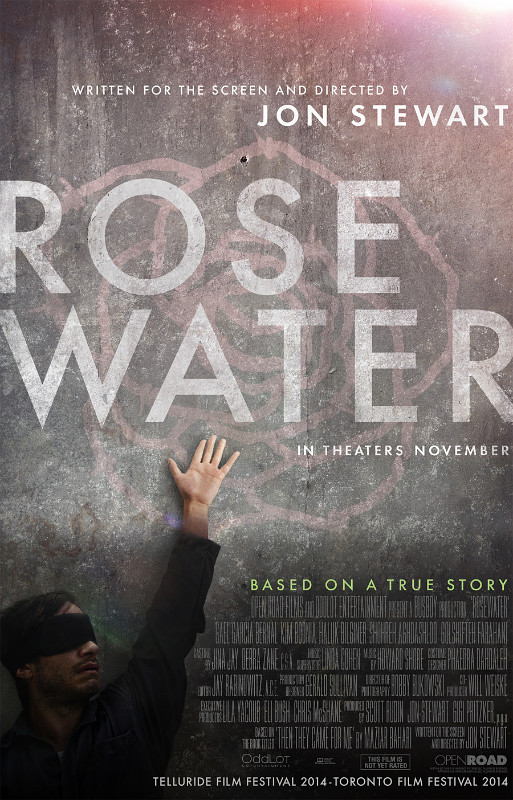 Jon Stewart's Directorial Debut 'Rosewater' Unveils Trailer and Poster