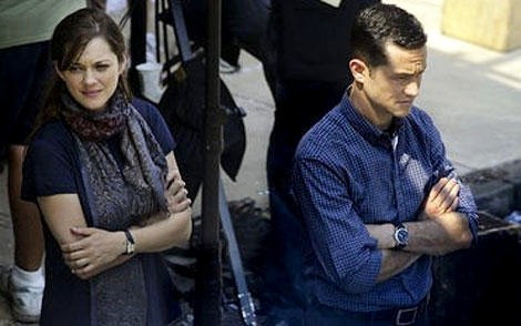 First Look at Joseph Gordon-Levitt on 'The Dark Knight Rises' Set