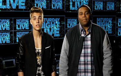 Justin Bieber Promotes His 'SNL' Gig, Kisses Mannequin on Jimmy Fallon's Show