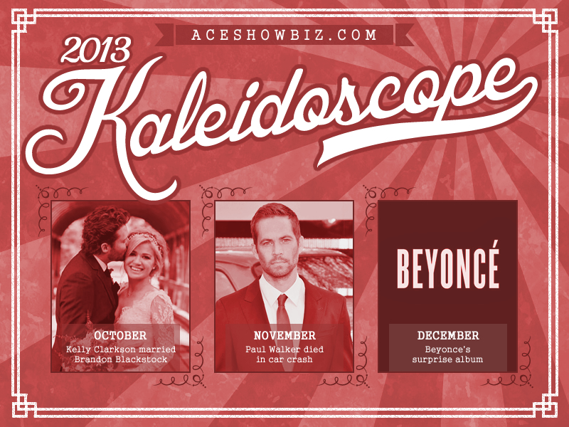 Kaleidoscope 2013: Important Events in Entertainment (Part 4/4)