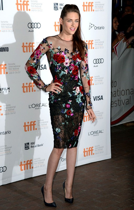 Kristen Stewart All Smiles for First Red Carpet Appearance at 'On the Road' TIFF Premiere