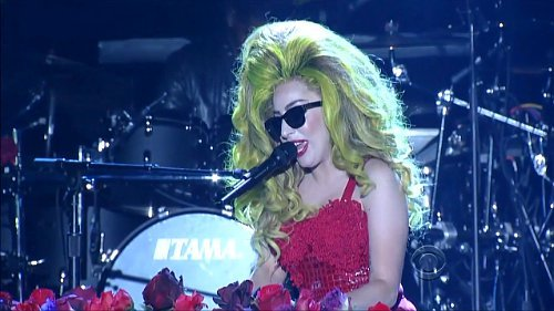 Video: Lady GaGa Performs 'G.U.Y.' During First Performance on 'Late Show'