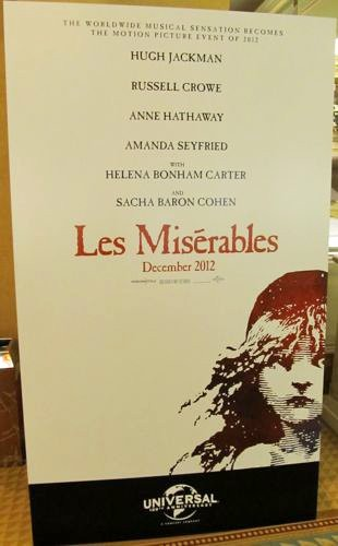 'Les Miserables' Debuts First Minimalist Teaser Poster at CinemaCon