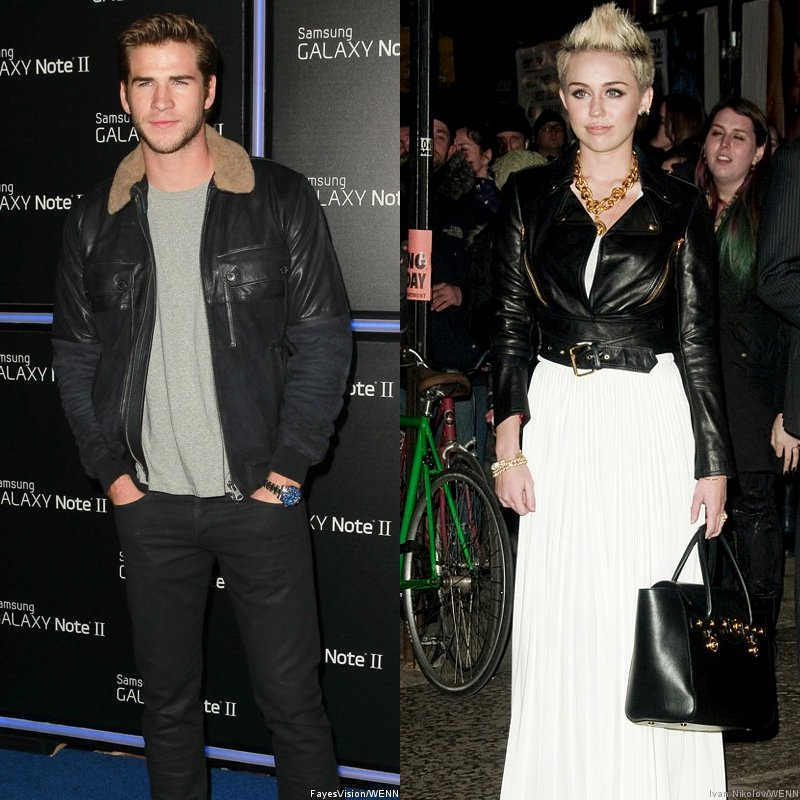 Liam Hemsworth's Ford Mustang Spotted in Miley Cyrus' Home