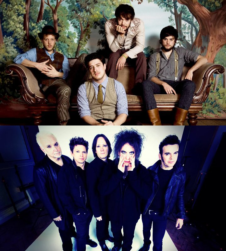Lollapalooza 2013 Official Line-Up Confirms Mumford and Sons and The Cure as Performers