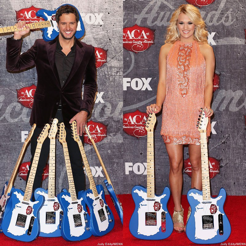 Luke Bryan and Carrie Underwood Win Big at 2012 American Country Awards