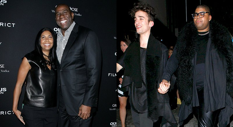 Magic Johnson and Wife 'Proud of' Gay Son
