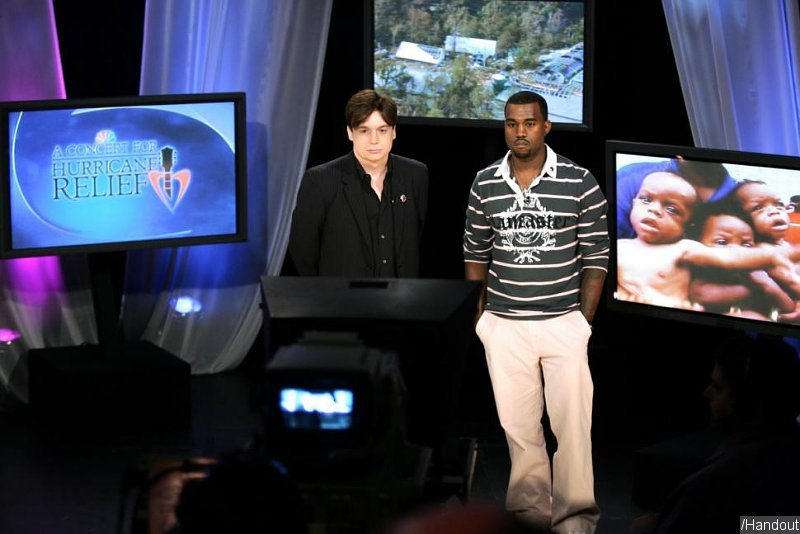 Mike Myers 'Proud' Standing Next to Kanye West During George Bush Diss