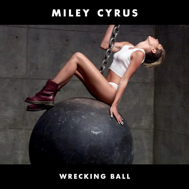 Miley Cyrus Shares 'Wrecking Ball' Video Premiere Date