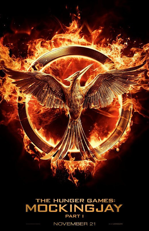 'The Hunger Games: Mockingjay, Part 1' Poster Is on Fire
