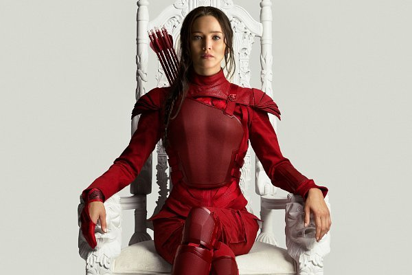 mockingjay, part 2' new poster and teaser: katniss goes red from