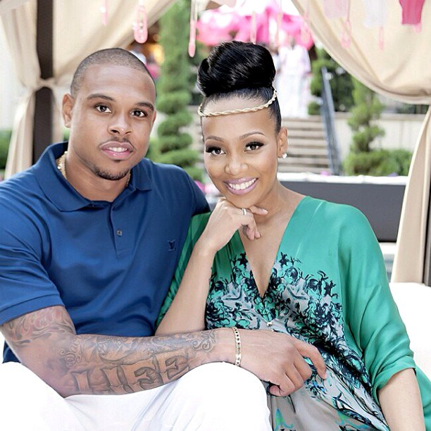 Monica and Shannon Brown Welcome Baby Girl Laiyah