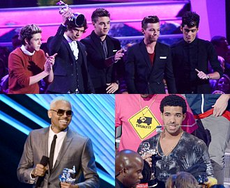 MTV VMAs 2012: One Direction, Chris Brown, Drake Are Early Winners