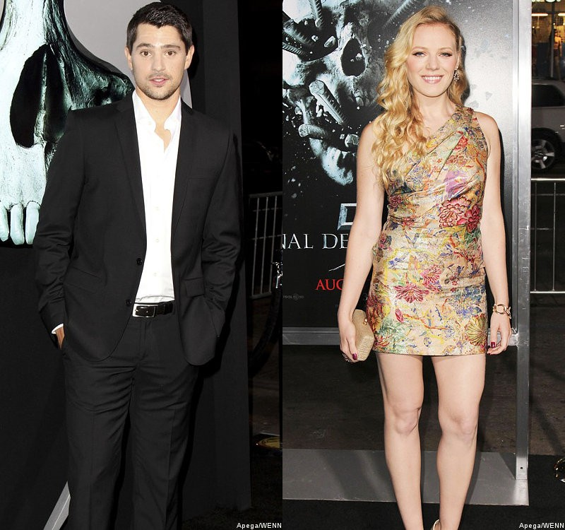 Nicholas D'Agosto and Emma Bell Bring Charm to L.A. Premiere of 'Final Destination 5'