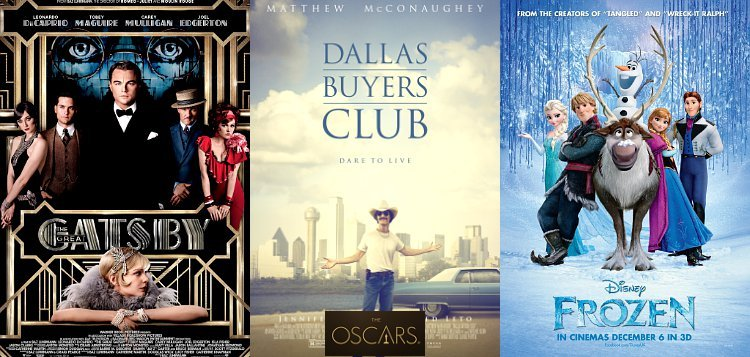 Oscars 2014: 'Great Gatsby', 'Dallas Buyers Club' and 'Frozen' Among Early Winners