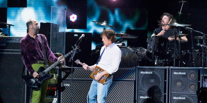 Paul McCartney and Nirvana Deliver New Song at 12-12-12 Sandy Relief Gig